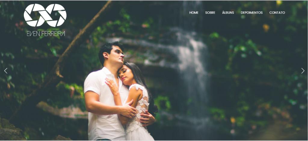 Site da fotógrafa Even Ferreira.